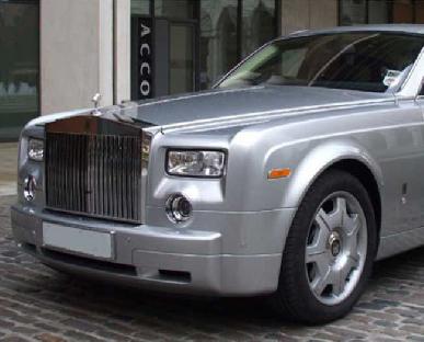 Rolls Royce Phantom - Silver Hire